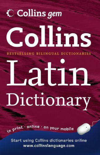 Collins Gem Latin Dictionary