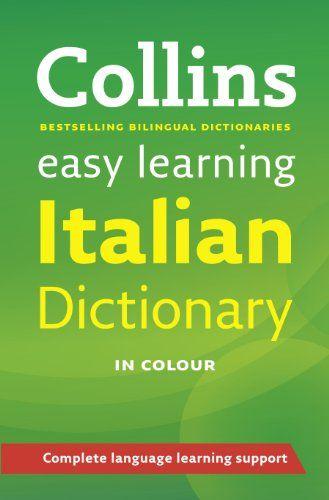 Easy Learning Italian Dictionary