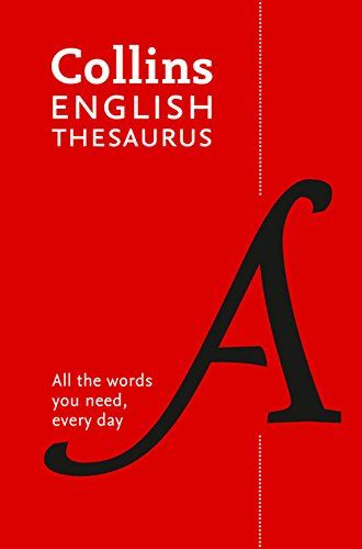 Collins English Thesaurus Paperback edition