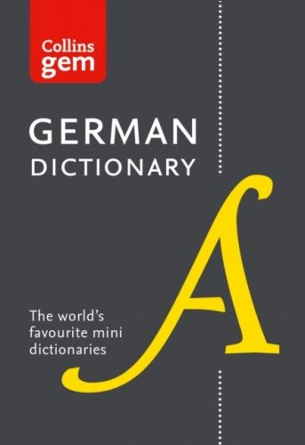 9780008141868 image Collins German Gem Dictionary