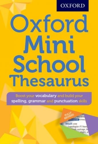 9780192747099 image Oxford Mini School Thesaurus