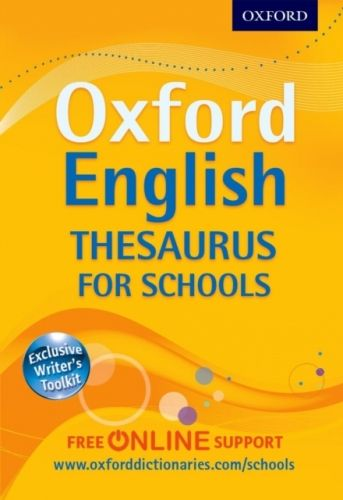 9780192757005 image Oxford English Thesaurus for Schools