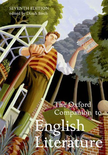 9780192806871 image Oxford Companion to English Literature