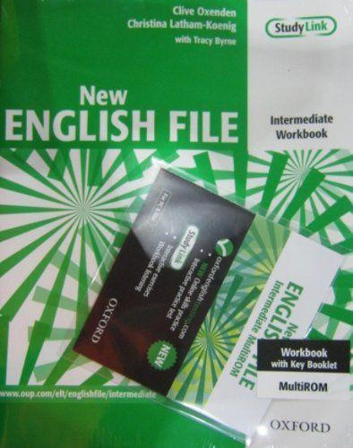 New English File: Intermediate: Workbook with key and MultiROM Pack