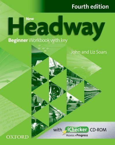 New Headway: Beginner A1: Workbook + iChecker with Key