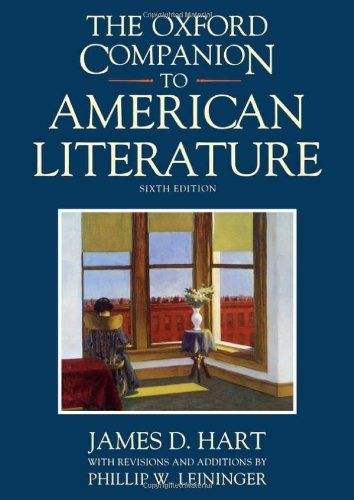 Oxford Companion to American Literature
