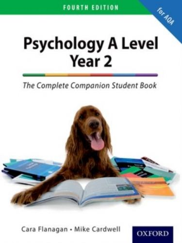 Complete Companion for AQA Psychology A Level: Year 2 Student Book