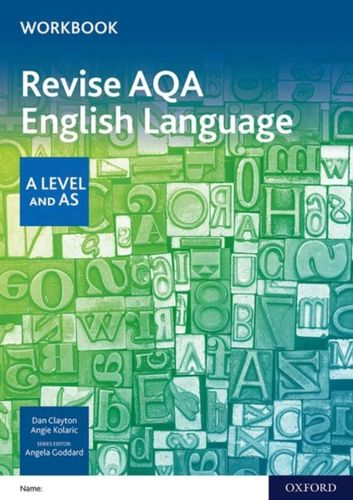 AQA A Level English Language: AQA A Level English Language Revision Workbook