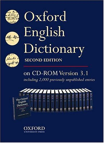 9780198610168 image Oxford English Dictionary