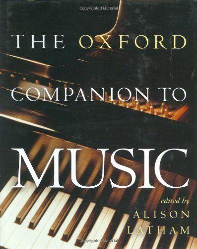 Oxford Companion to Music