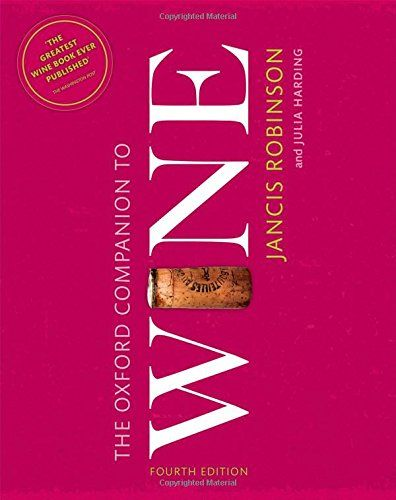 9780198705383 image Oxford Companion to Wine