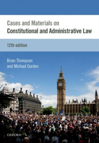 9780198767732 image Cases & Materials on Constitutional & Administrative Law