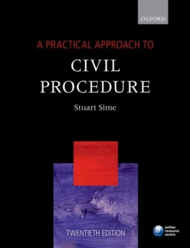 9780198787570 image Practical Approach to Civil Procedure