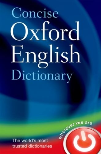 9780199601080 image Concise Oxford English Dictionary