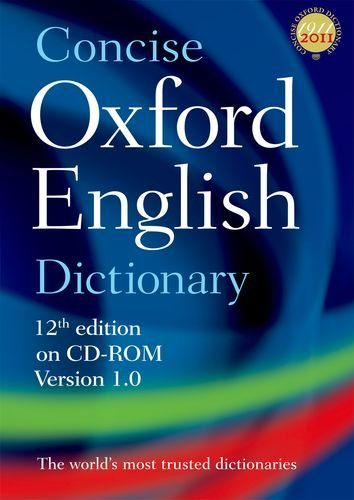 9780199601097 image Concise Oxford English Dictionary