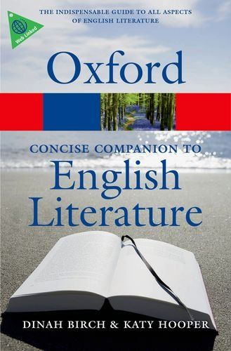 Concise Oxford Companion to English Literature