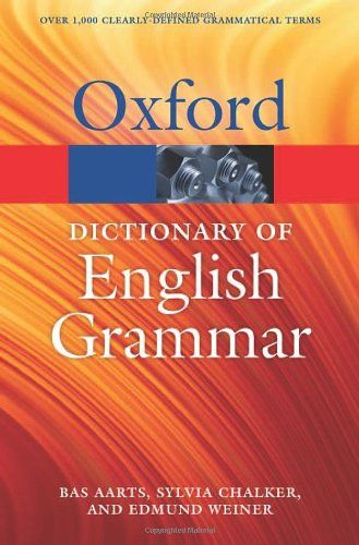 9780199658237 image Oxford Dictionary of English Grammar