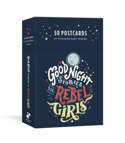Good Night Stories for Rebel Girls: 50 Postcards