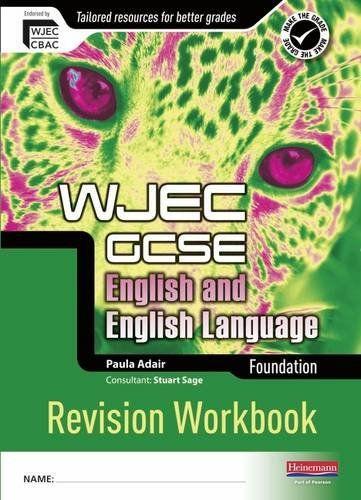 WJEC GCSE English and English Language  Foundation Revision Workbook