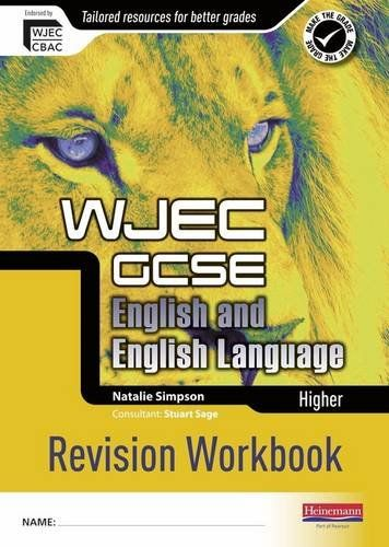 WJEC GCSE English and English Language Higher Revision Workbook