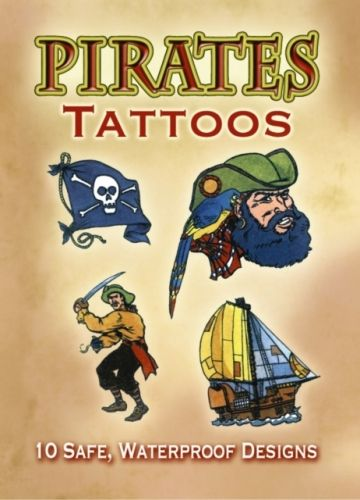 9780486402024 image Pirates Tattoos
