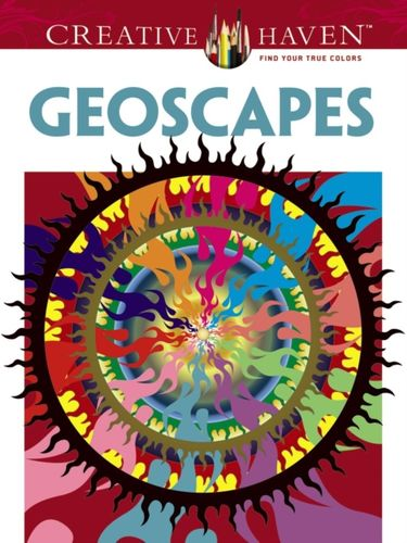 Creative Haven Geoscapes Coloring Book