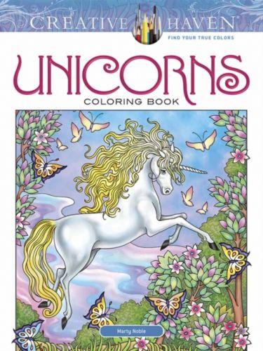 Creative Haven Unicorns Coloring Book