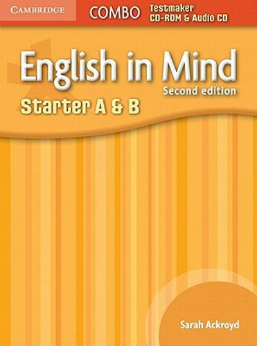 English in Mind Starter A and B Combo Testmaker CD-ROM and Audio CD