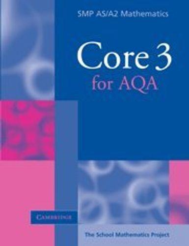 SMP AS/A2 Mathematics for AQA