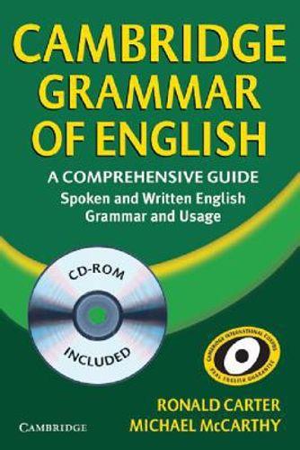 Cambridge Grammar of English Hardback with CD-ROM