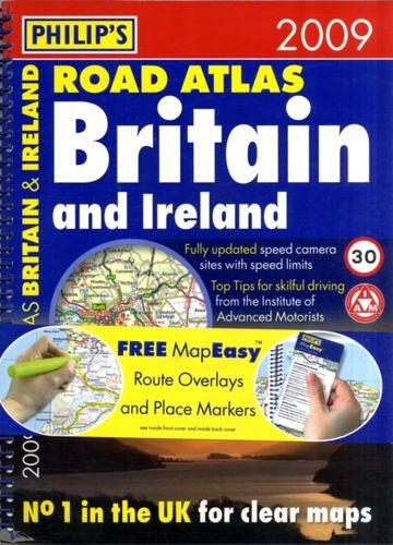 Philip's Road Atlas Britain and Ireland