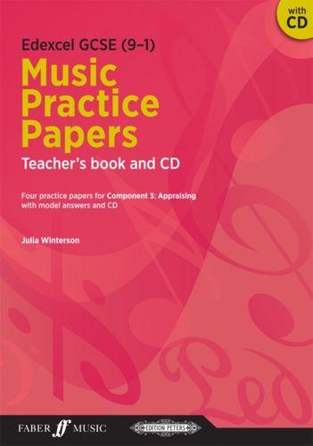 Edexcel GCSE Music Practice Papers Teacher's Book and CD
