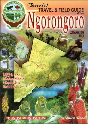 9780620341912 image tourist travel & field guide of the Ngorongoro