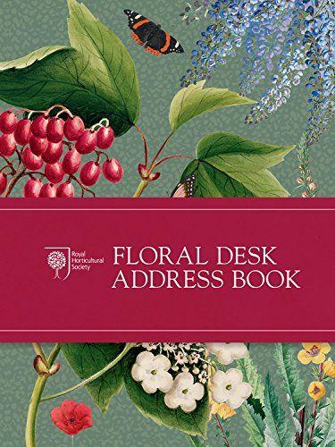 9780711237728 image RHS Floral Desk Address Book