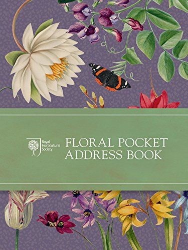 RHS Floral Pocket Address Book