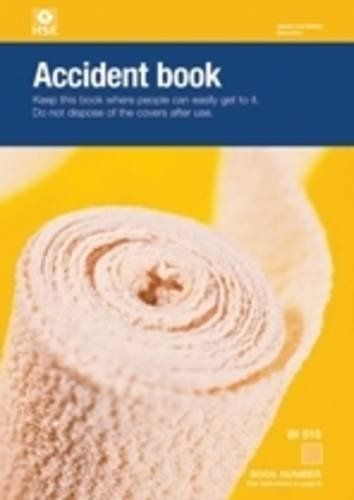 Accident book BI 510 (pack of 20)