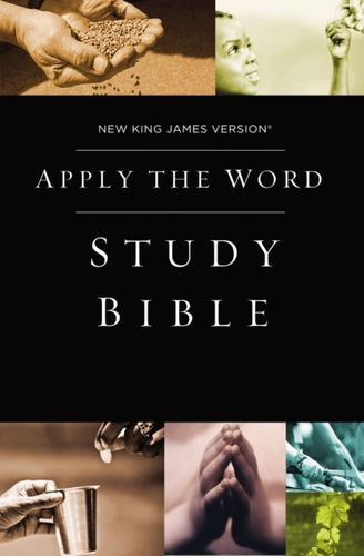 NKJV, Apply the Word Study Bible, Hardcover, Red Letter Edition