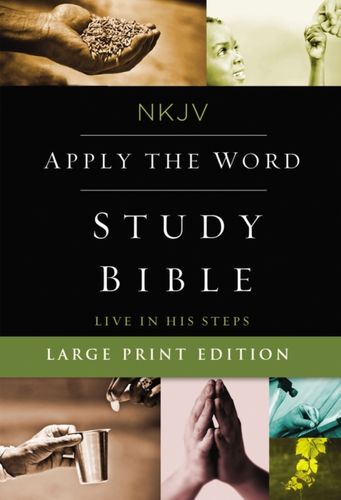 9780718084387 image NKJV, Apply the Word Study Bible, Large Print, Hardcover, Red Letter Edition