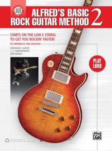 ALFREDS BASIC ROCK GUITAR METHOD 2 BOOK