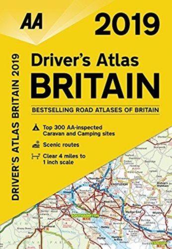 AA Driver's Atlas Britain 2019