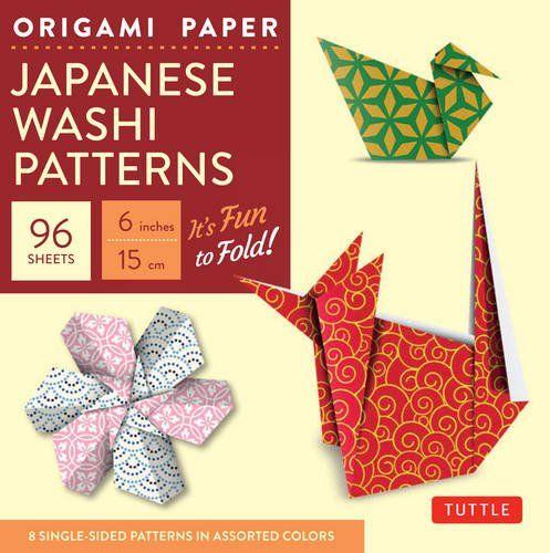 Origami Paper: Japanese Washi Patterns