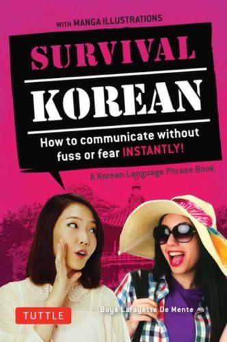 Survival Korean Phrasebook & Dictionary