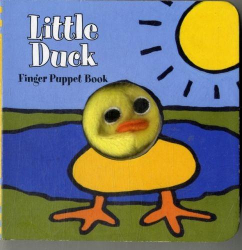 Little Duck: Finger Puppet Book