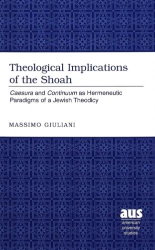 Theological Implications of the Shoah