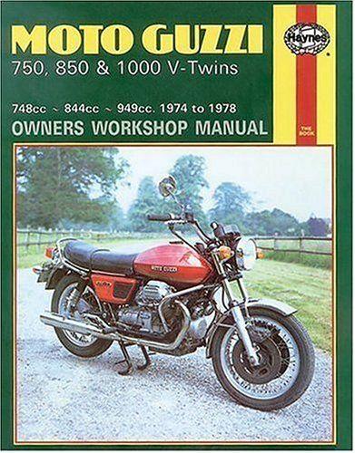 9780856963391 image Moto Guzzi 750, 850 & 1000 V-Twins (74 - 78)