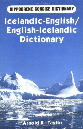 Icelandic-English / English-Icelandic Concise Dictionary