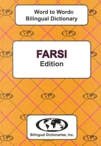9780933146334 image English-Farsi & Farsi-English Word-to-Word Dictionary