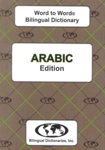 9780933146419 image English-Arabic & Arabic-English Word-to-Word Dictionary