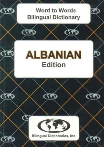 9780933146495 image English-Albanian & Albanian-English Word-to-Word Dictionary
