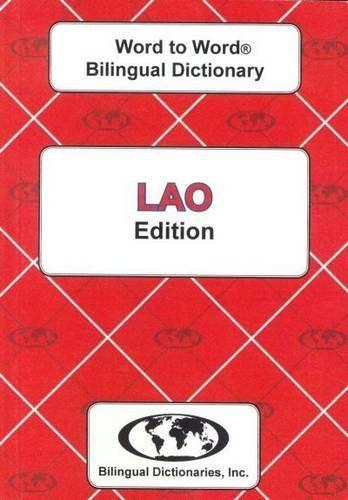 9780933146549 image English-Lao & Lao-English Word-to-Word Dictionary